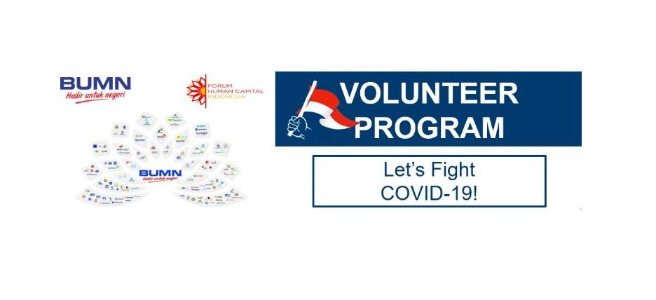Pendaftaran Volunteer dalam Antisipasi COVID-19