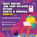 Online Job Fair Relasio.com Maret 2020 (Session 2)
