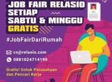 Online Job Fair Relasio.com Maret 2020 (Session 2)