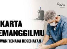 Pendaftaran Relawan dalam Antisipasi COVID-19 di Jakarta (Tenaga Kesehatan)